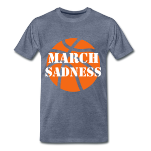 March Sadness - heather blue