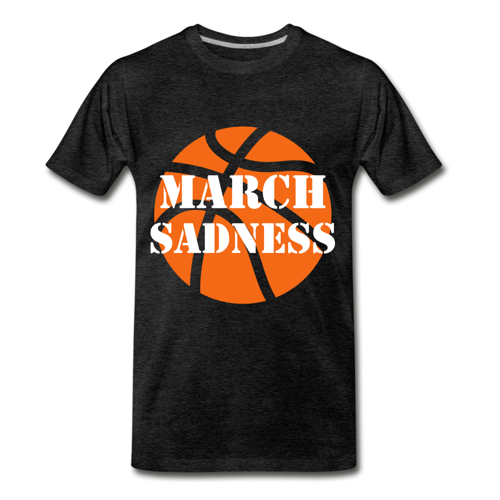 March Sadness - charcoal gray
