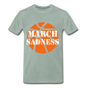 March Sadness - steel green