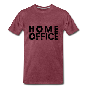 Home Office - heather burgundy