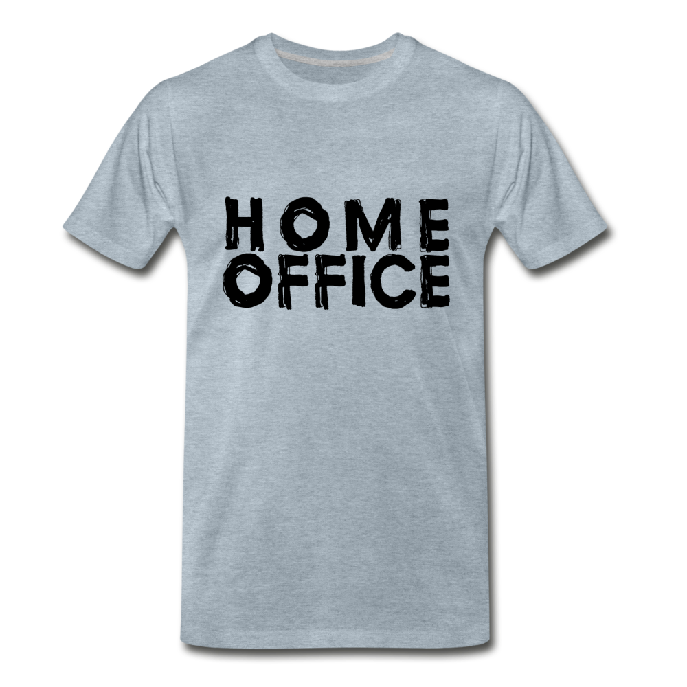 Home Office - heather ice blue