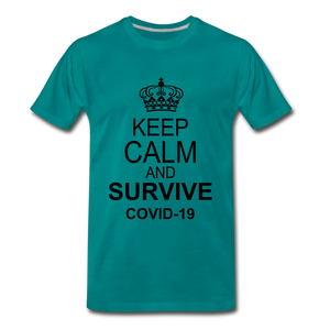 Survive Covid-19 - teal