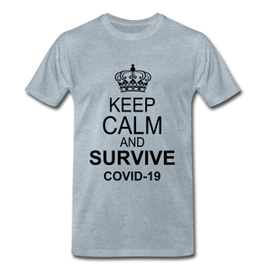 Survive Covid-19 - heather ice blue