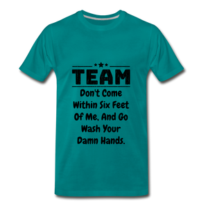 Team Was Your Hands - teal