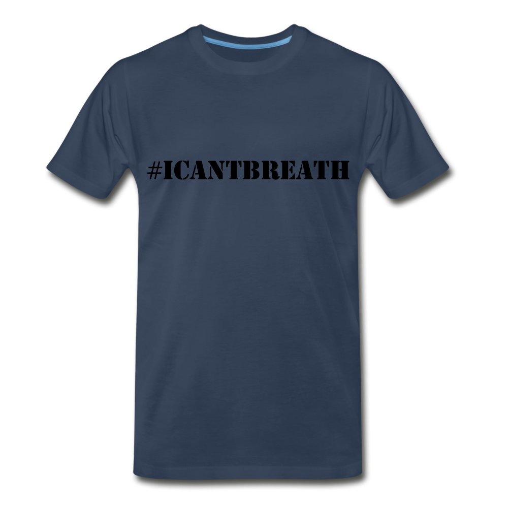 I Cant Breath GF - navy