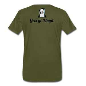 I Cant Breath GF - olive green