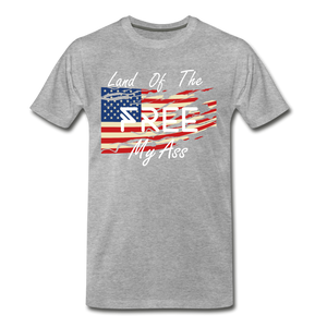 Land of the free M/A - heather gray