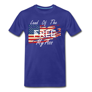Land of the free M/A - royal blue