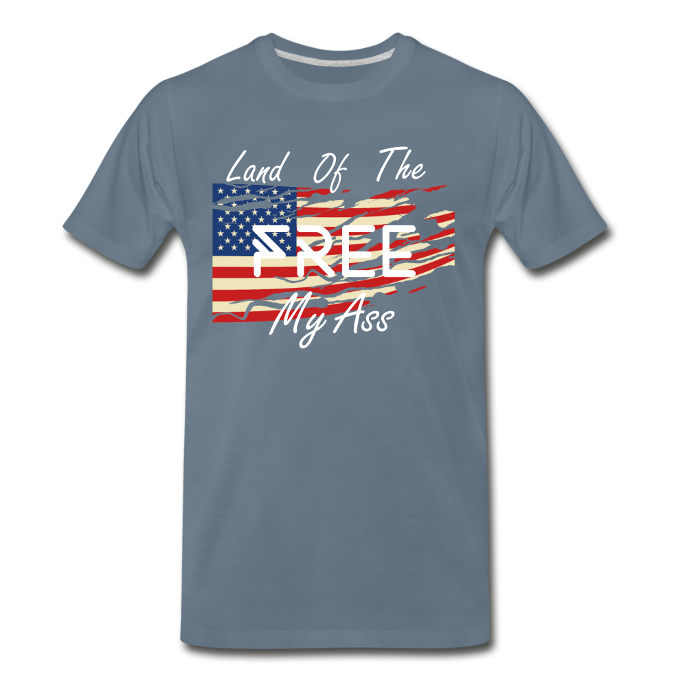 Land of the free M/A - steel blue