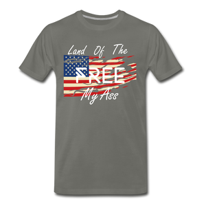 Land of the free M/A - asphalt gray