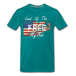 Land of the free M/A - teal
