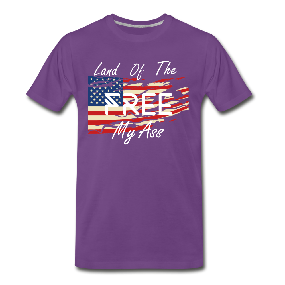 Land of the free M/A - purple