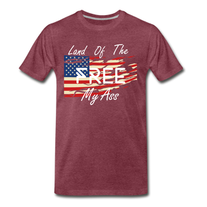 Land of the free M/A - heather burgundy