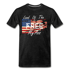 Land of the free M/A - charcoal gray