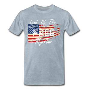 Land of the free M/A - heather ice blue