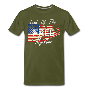 Land of the free M/A - olive green