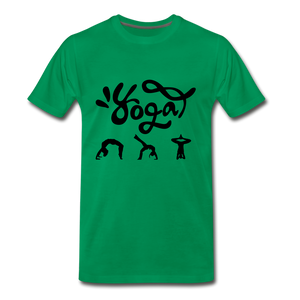 Yoga Tee. - kelly green