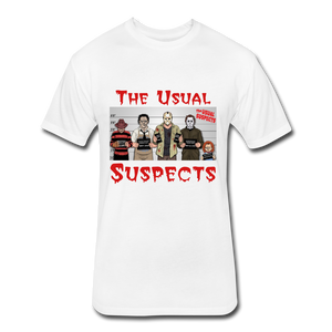 Usual Suspects - white