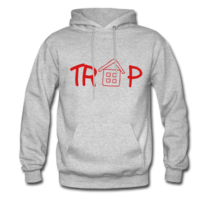 TRAP HOODIE - heather gray