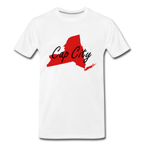 Cap City Tee. - white
