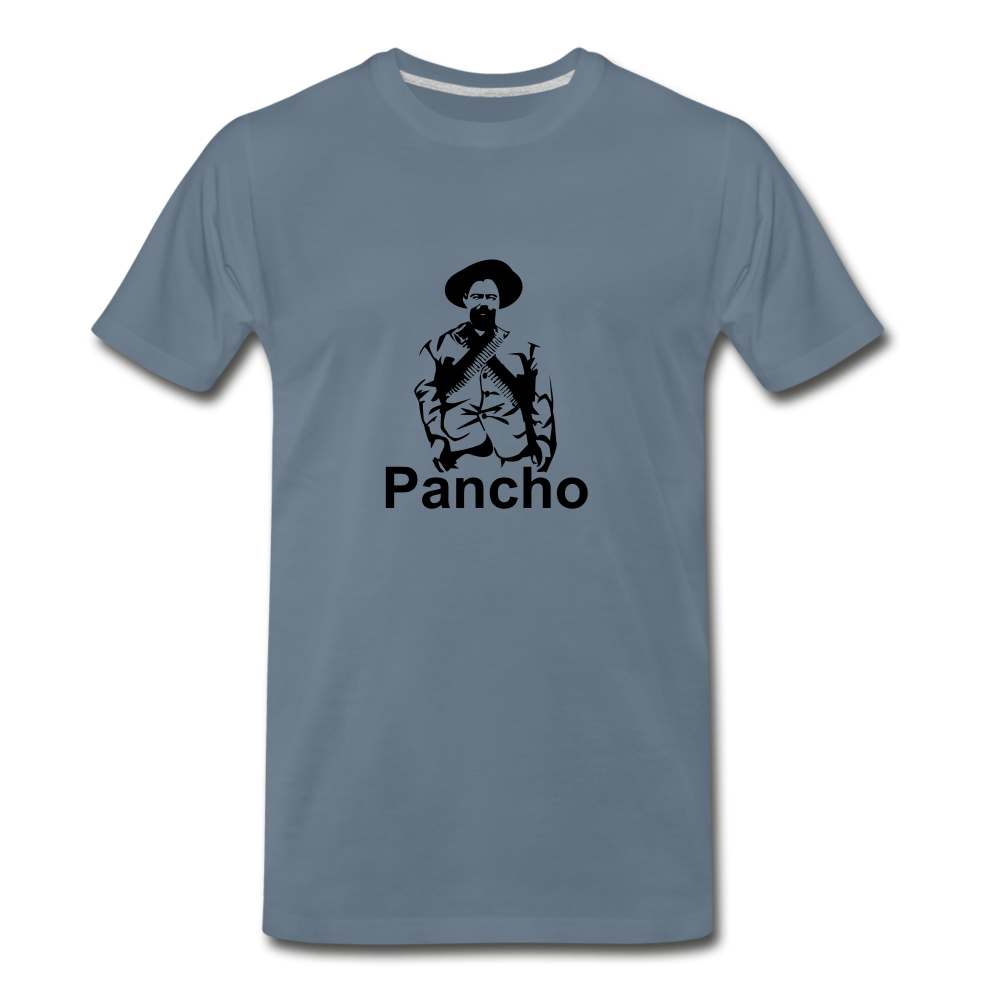 Panch Villa - steel blue