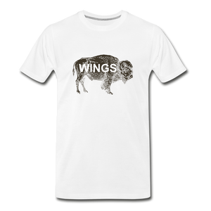 Buffalo Wings - white