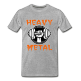 Heavy Metal - heather gray