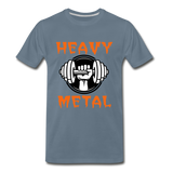 Heavy Metal - steel blue