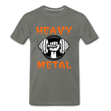 Heavy Metal - asphalt gray