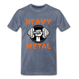 Heavy Metal - heather blue