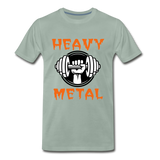 Heavy Metal - steel green