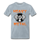 Heavy Metal - heather ice blue