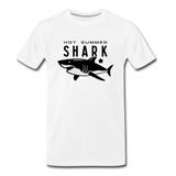 Hot Summer Shark - white