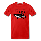 Hot Summer Shark - red