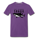 Hot Summer Shark - purple