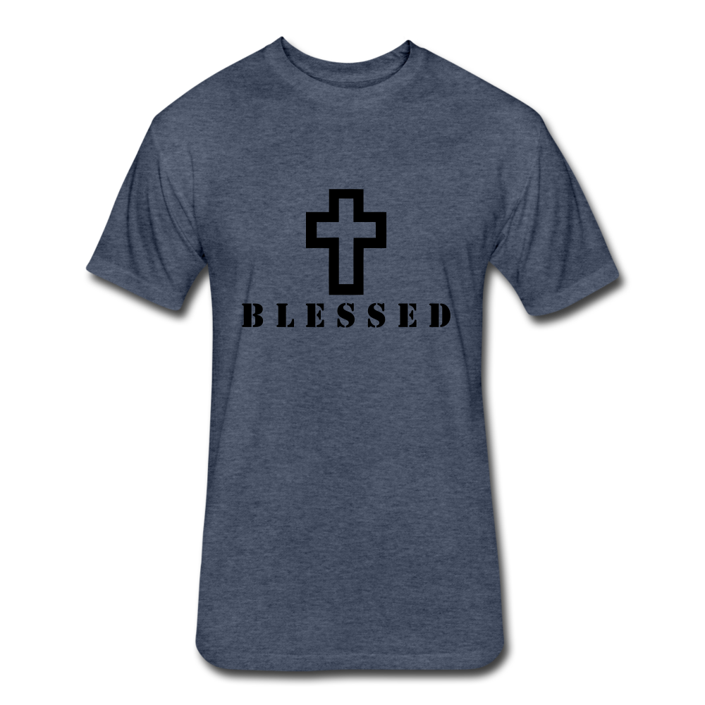 Blessed.. - heather navy