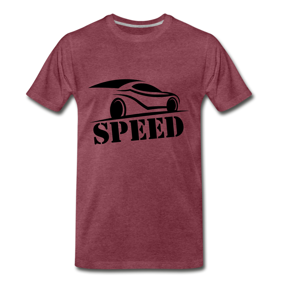 SPEED - heather burgundy