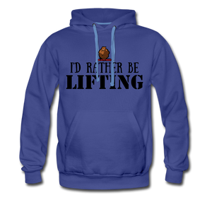 Rather be Lifting - royalblue