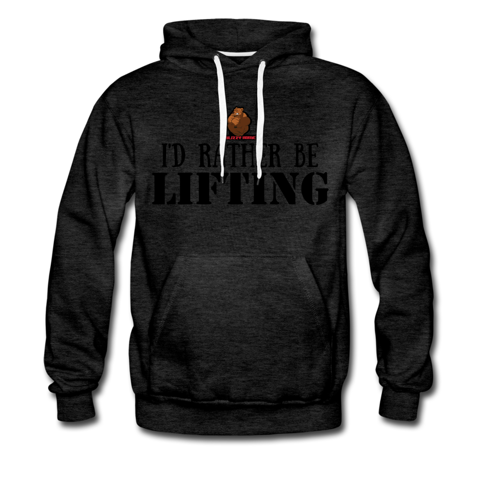 Rather be Lifting - charcoal gray