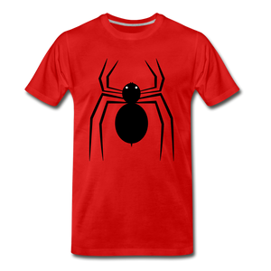 Spider Tee. - red