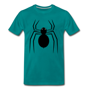 Spider Tee. - teal