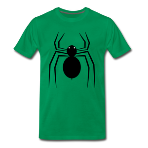 Spider Tee. - kelly green