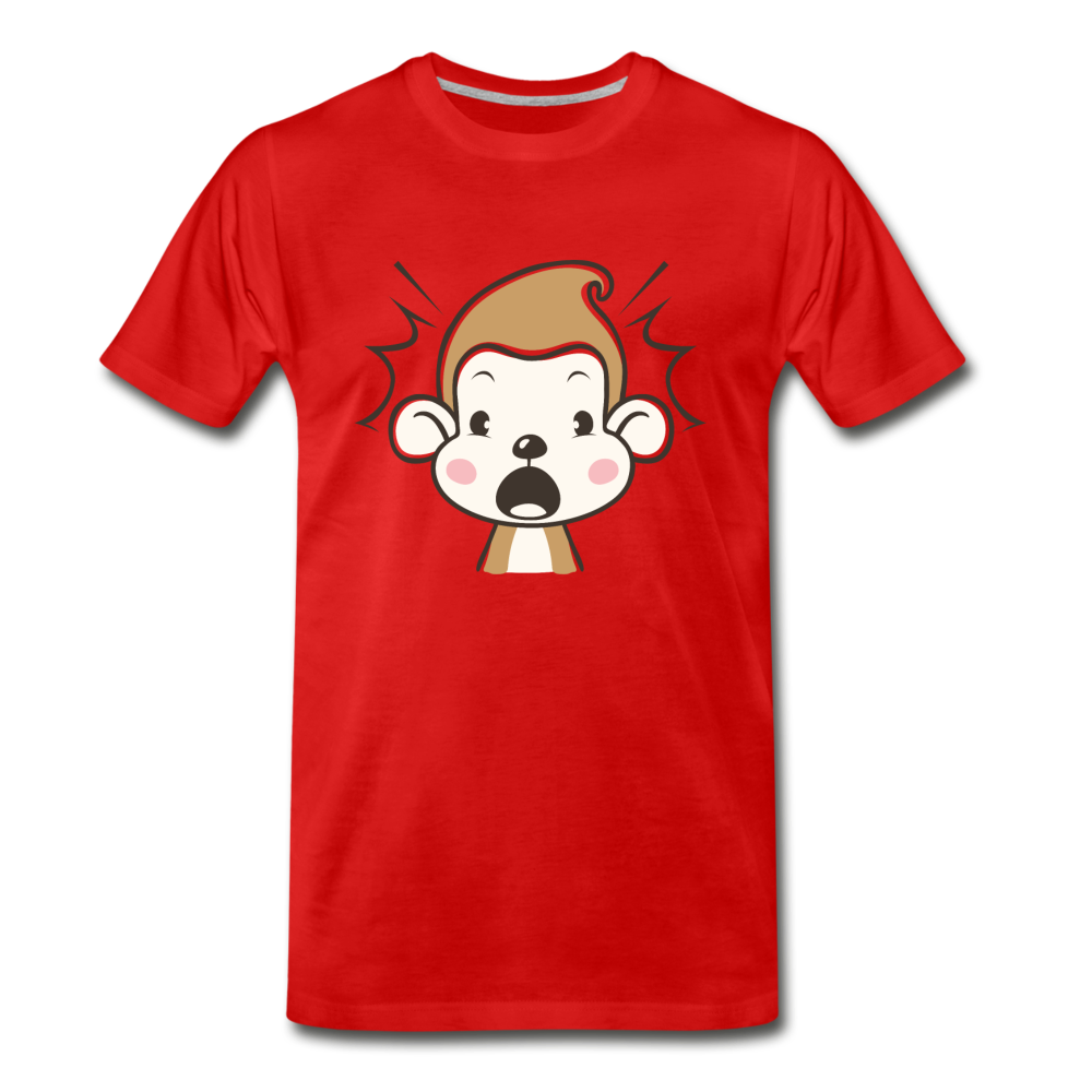 Shocked Monkey - red