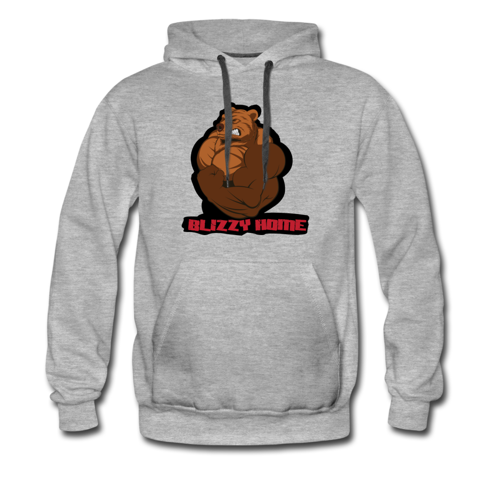 Blizzy Home Signature Hoodie. - heather gray