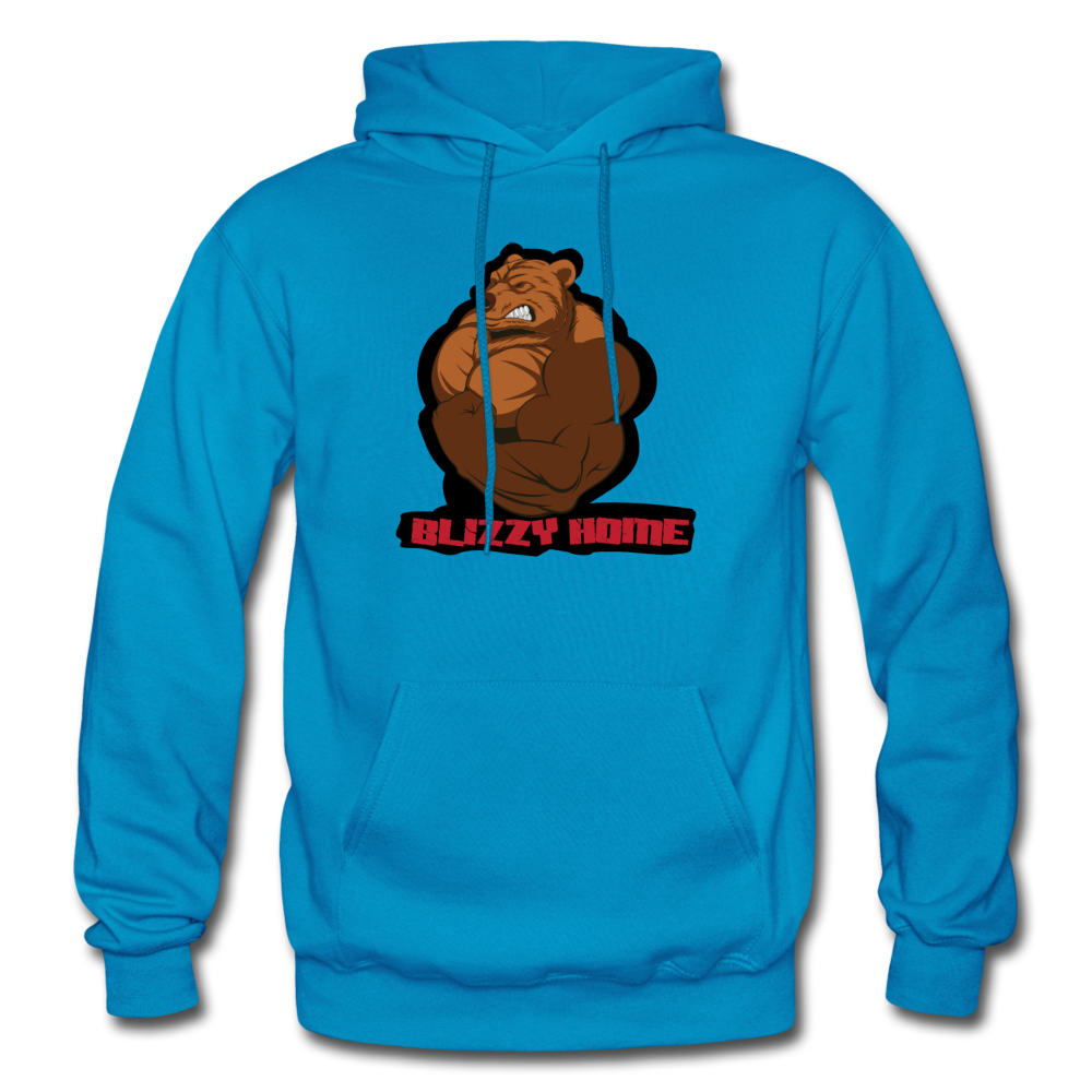 Blizzy Home Signature Heavy Blend Hoodie (plus sizes available) - turquoise