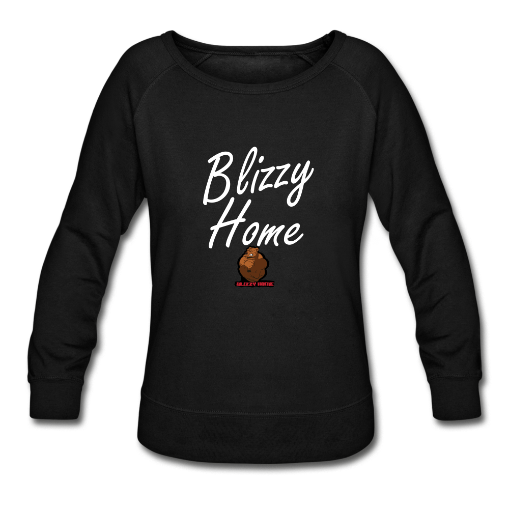 Blizzy Home Signature Women's Crewneck Sweatshirt - black