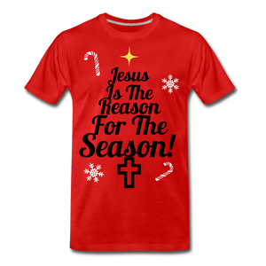 Jesus Is The Reason Tee - red