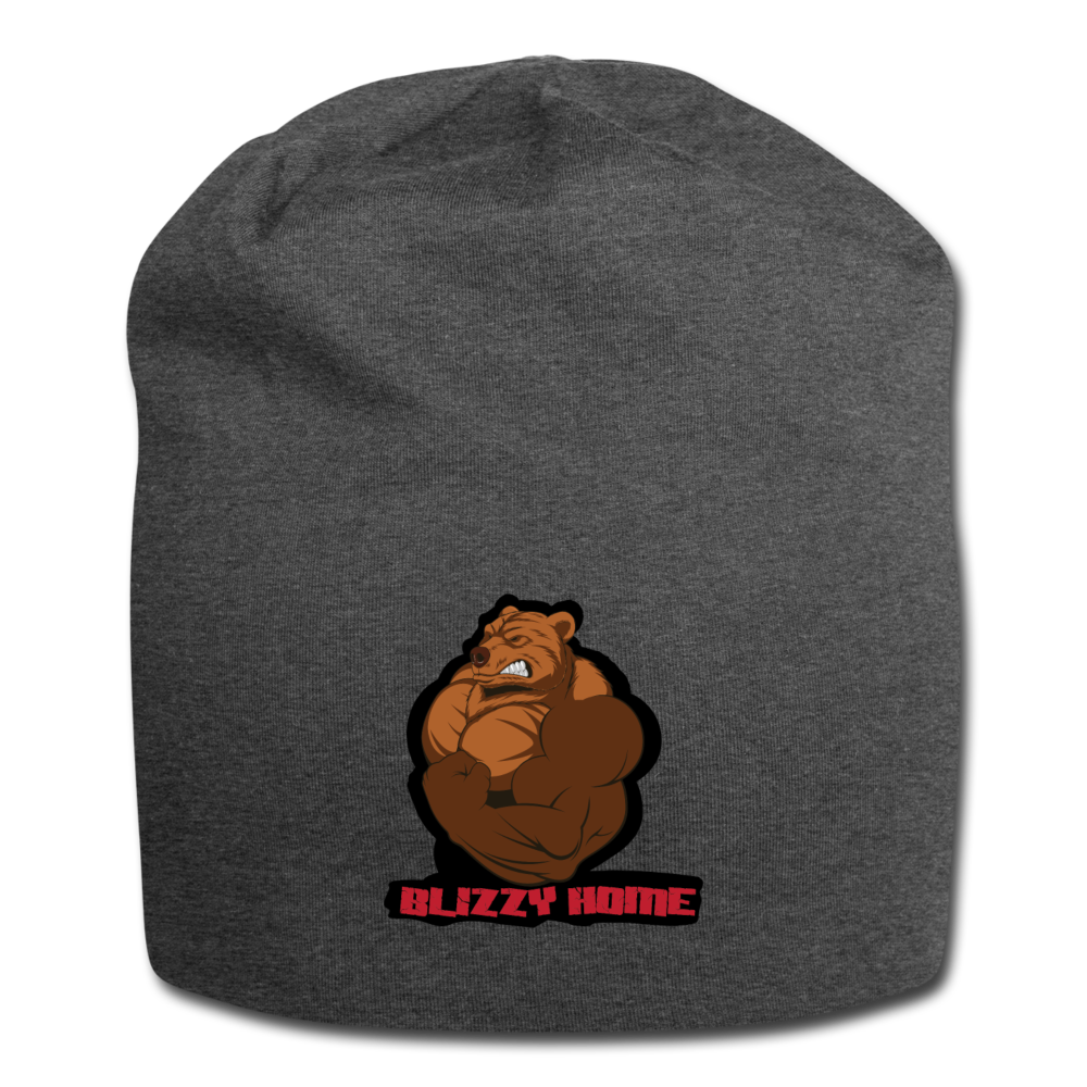 Blizzy Home Signature Beanie - charcoal gray