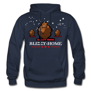 Blizzy Home Signature Stars Hoodie - navy