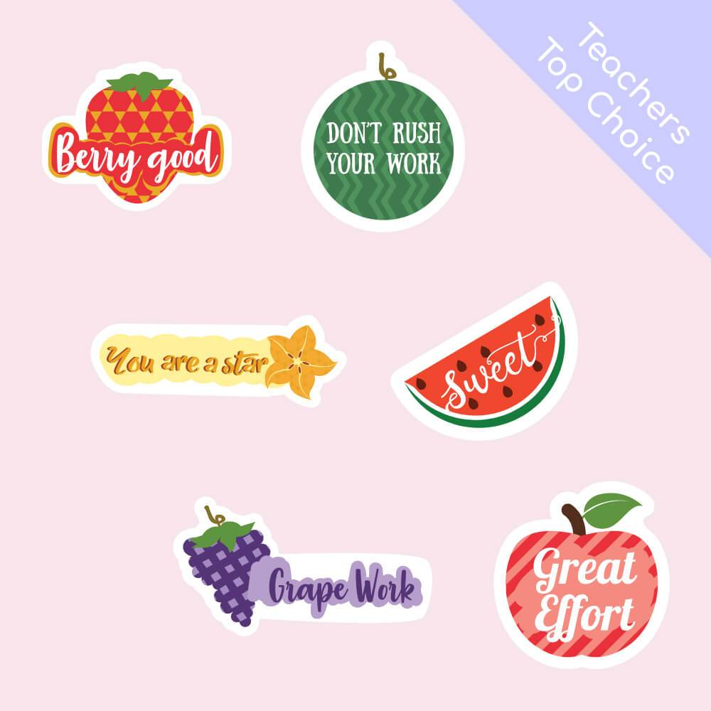 Fruity Reward Stickers